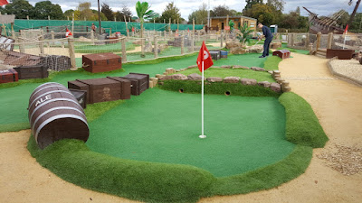 Pirate Island Adventure Golf in the Forest of Dean in 2017