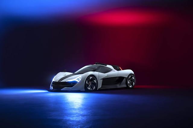 El APEX AP 0 ofrece 515Km de autonomía eléctrica y 650CV