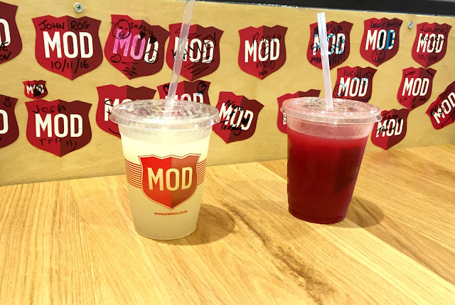 Lemonade drinks MOD metrocentre