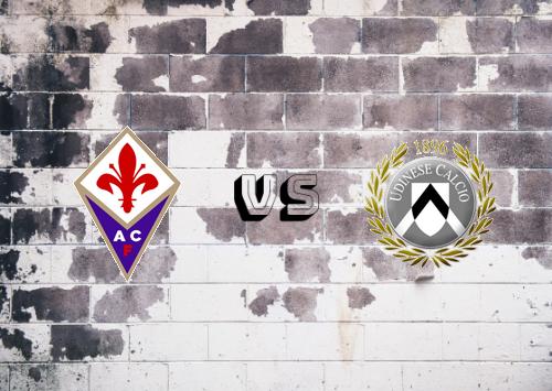 Fiorentina vs Udinese  Resumen