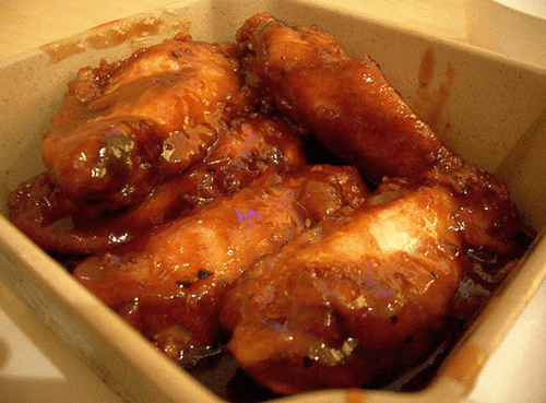 Delicious Honey and Black Pepper Wings