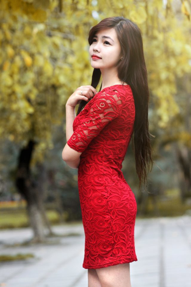 Hot Girl FPT Hà Nội Xinh Tươi Đón Noen 4