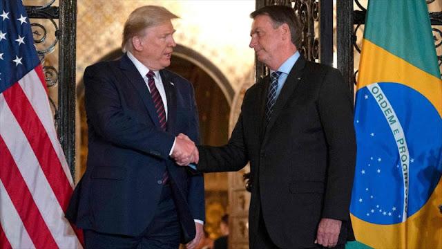 Bolsonaro da positivo al coronavirus tras reunión con Trump