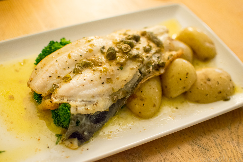 Pan Fried Lemon Sole