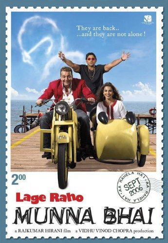 Poster Of Lage Raho Munna Bhai 2006 720p Hindi BRRip Full Movie Download
