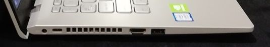 sisi kiri ASUS VivoBook A409FJ