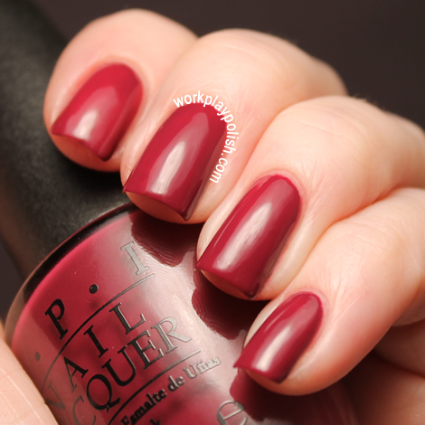 OPI Skyfall Collection: Casino Royale (work / play / polish)