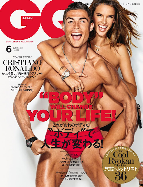 Actress, Model, @ Alessandra Ambrosio - GQ Magazine Japan, June 2016