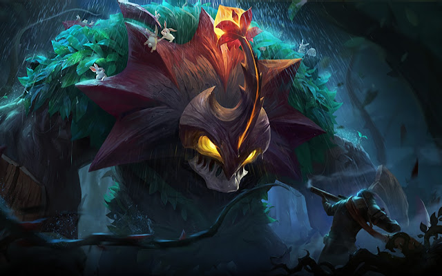 Belerick Guard of Nature Natures Nursery Heroes Tank of Skins Mobile Legends Wallpaper HD for PC