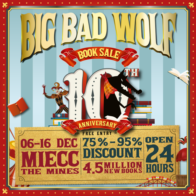 Big Bad Wolf Celebrates 10th Anniversary With A Massive Book Sale Thehive Asia