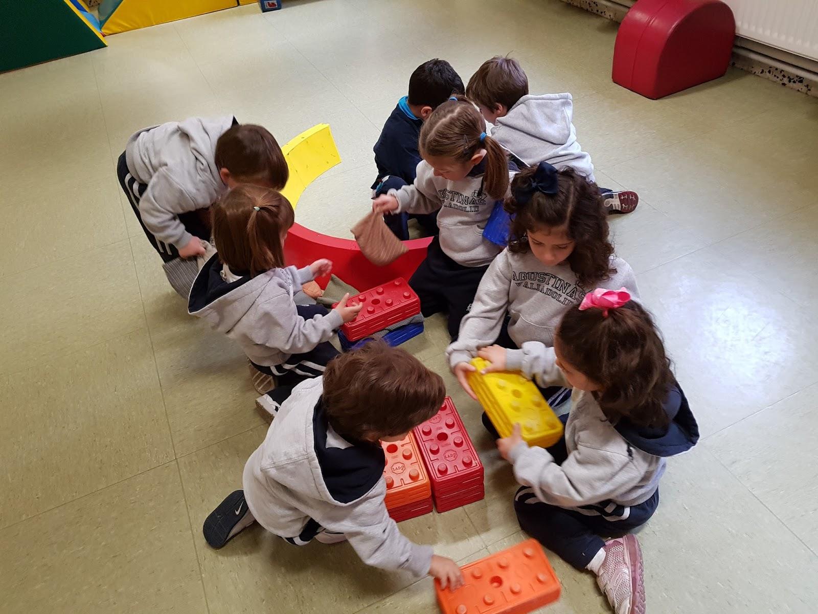 Agustinas Valladolid - 2017 - Infantil - Psicomotricidad - Edad Media