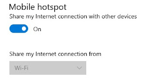 "Solved Solusi ""We can't set up mobile hotspot"" yang error di Windows 10"