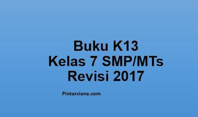 Buku K13 Kelas 7 SMP/MTs Revisi 2017