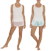 Walmart: $4 (Reg. $11.84) Secret Treasures Women's Bride Tank & Short 2-Piece Sleepwear!