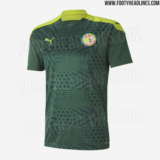 Fuite de kits Puma Côte d'Ivoire, Egypte, Ghana, Maroc et Sénégal 2020-2021  - Euro 2020