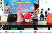 Ramadhan Penuh Berkah, Kasat Lantas Polres Pinrang Berbagi di Panti Asuhan