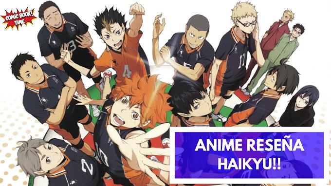 Anime reseña: 'Haikyu!!' pasión por el voleibol | Producido por Production I.G