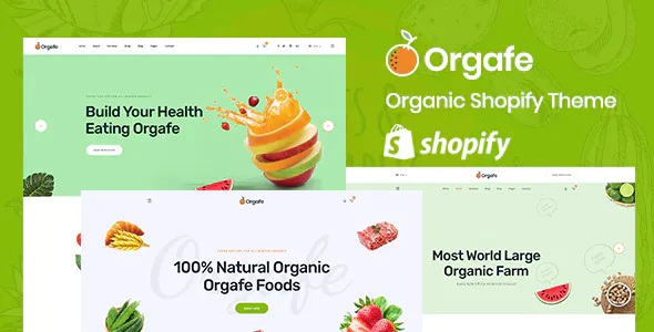 Best Organic Food Shopify Template