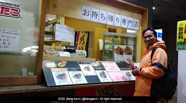 Pengalaman Makan Takoyaki di Jepang