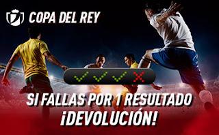 sportium Copa del Rey: Combinada con seguro 28-30 enero 2020