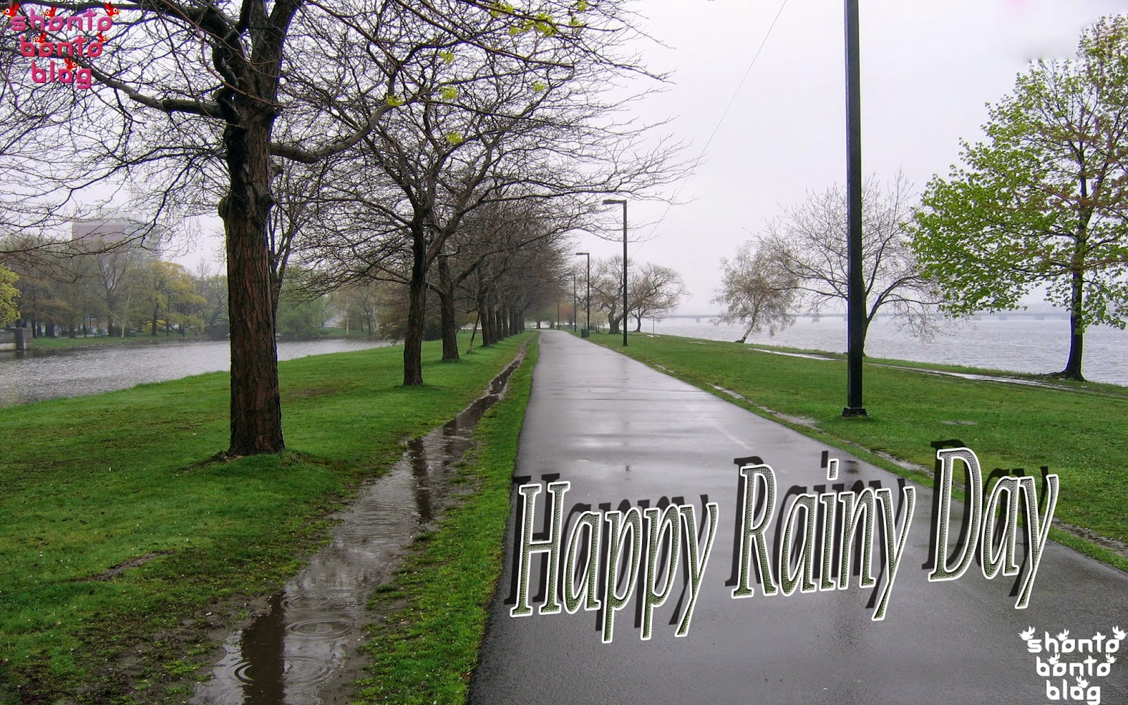 Blessed Rainy Day Quotes: Top Wallpaper: Happy Rainy Day Wishes Wallpaper With