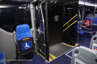 Interior bus tingkat paradise new armada