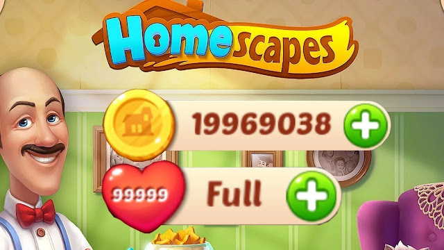Homescapes Unlimited Star, Heart, Coin