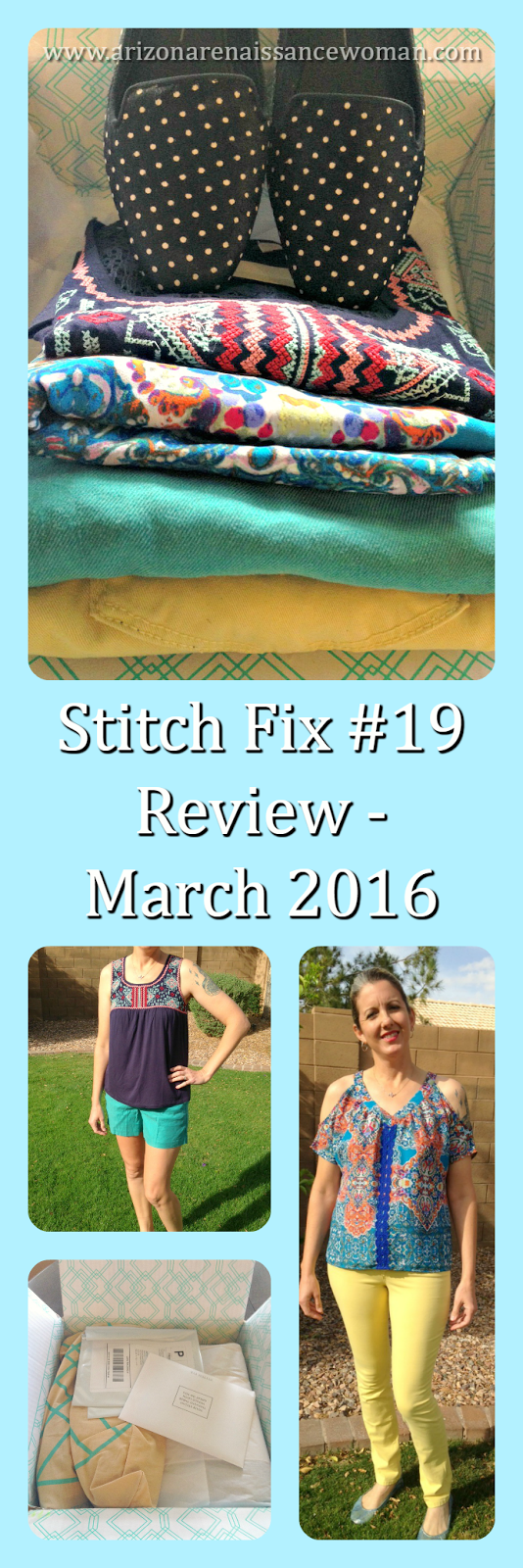 Stitch Fix #19 Review - March 2016 - Collage
