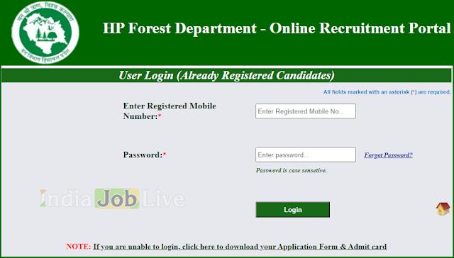 latest-govt-hall ticket-himachal-pradesh-hp-forest-guard-exam-date-admit-card-download-indiajobslive.com