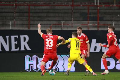 ملخص واهداف مباراة بروسيا دورتموند ويونيون برلين (1-2) الدوري الألماني