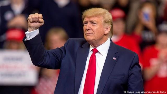 Aprovação de Trump cresce para 49% após processo de Impeachment