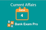 Current Affairs 4th June 2019 | Daily GK Updates