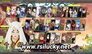 Naruto Senki Mod Golden Kaguya Apk