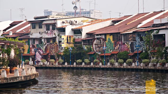 Melaka River Graffiti