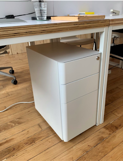 Slim classroom File Cabinet Fully Assembled