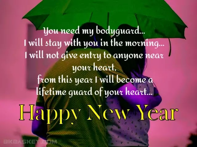 Romantic New Year Love SMS for Girlfriend in Hindi