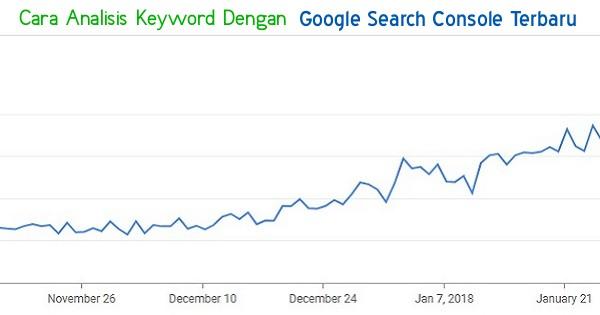 Cara Analisis Keyword Menggunakan Google Search Console (GSC) Terbaru