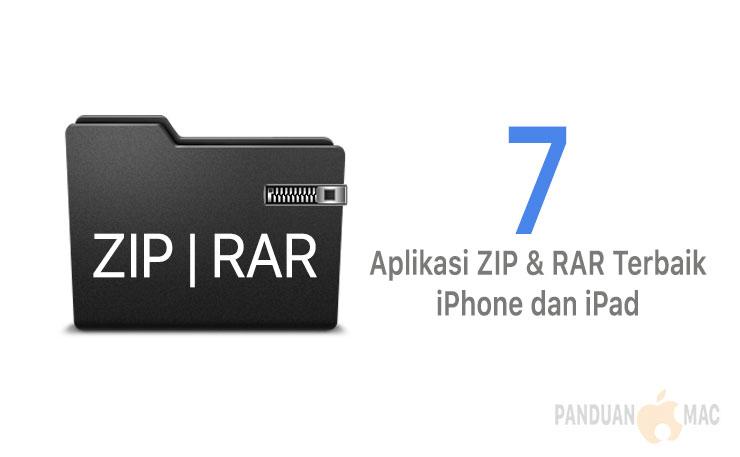 7 Aplikasi RAR dan ZIP Terbaik untuk iPhone dan iPad