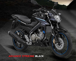 Yamaha Vixion Advance Striking Black
