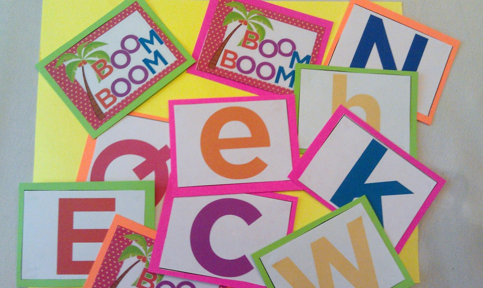Kindergarten Kel: Chicka Chicka Boom Boom Letter ... - photo#48