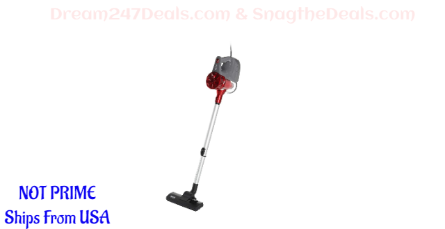 Corded Vacuum, 2 in 1 Powerful Suction 30% OFF