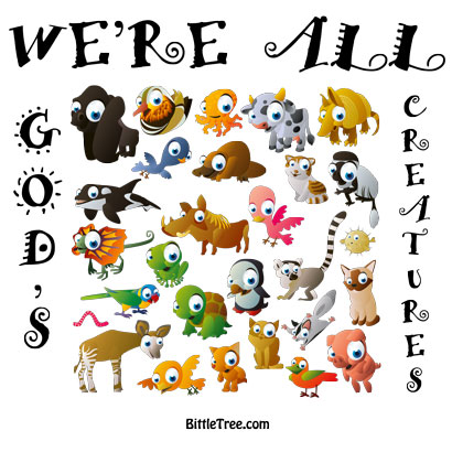 Bittle Tree: We're All God's Creatures