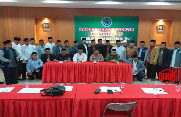 Kasat Binmas Polres Jakbar Menghadiri Rakerda MUI ke IV Tahun 2019