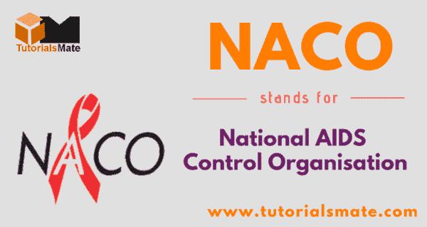 NACO Full Form