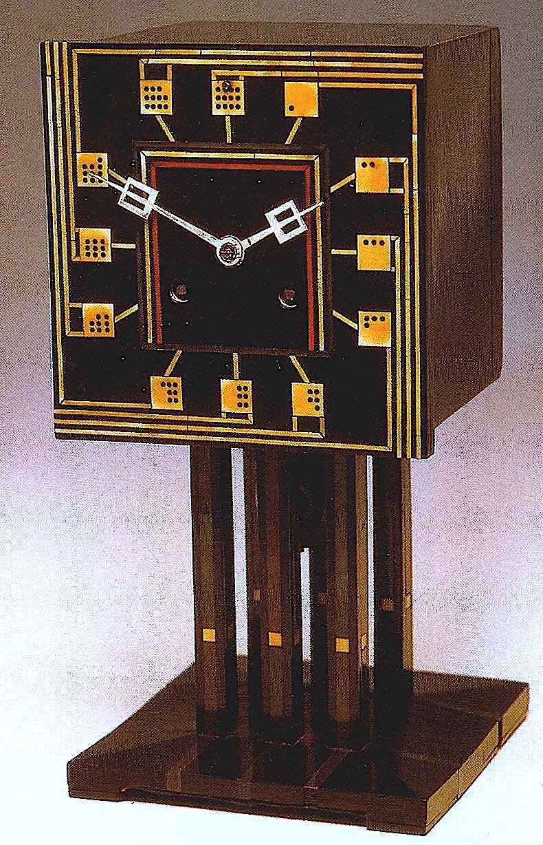 Charles Rennie Mackintosh clock