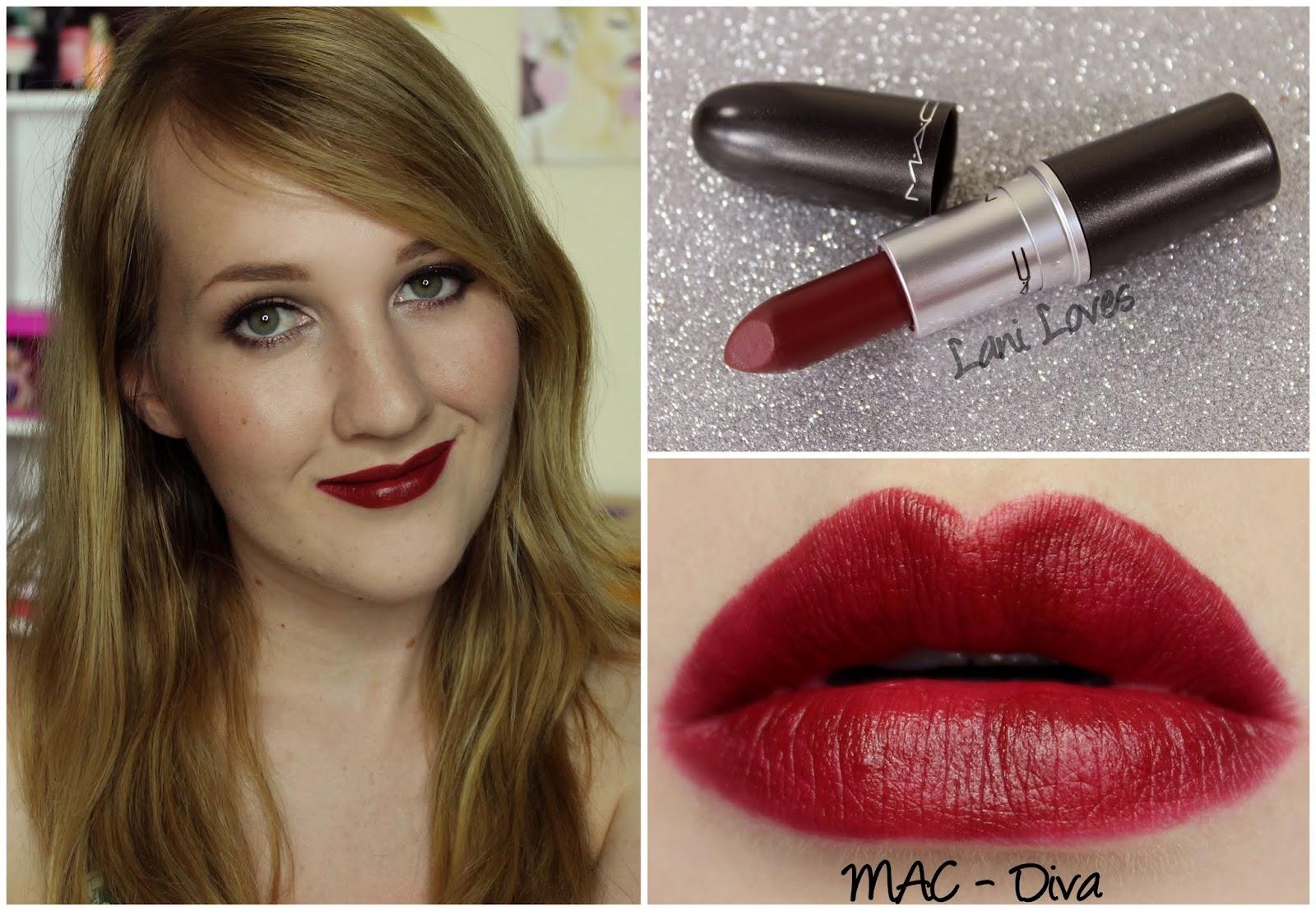MAC Lipsticks - Swatch Masterpost - Lani Loves