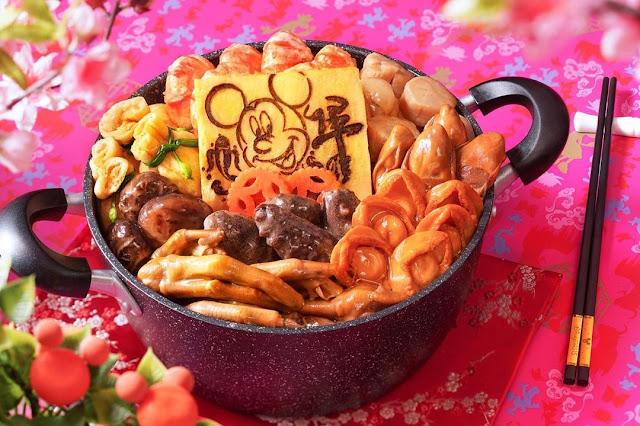 2021 新年外賣精選香港迪士尼金牛迎春賀年盆菜, Hong Kong Disneyland, CNY, Golden Ox Spring Festival Poon Choi