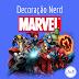 Decoração Nerd - Marvel