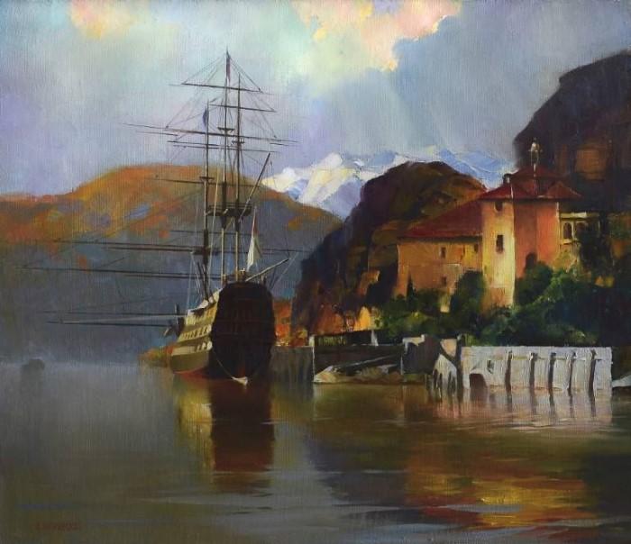 Украинский художник. Khodakivskyi