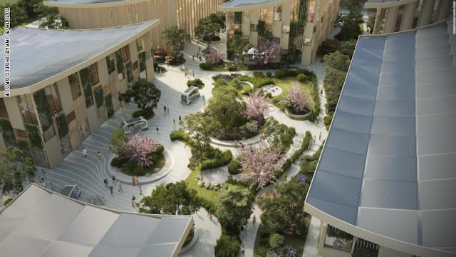 """تويوتا تكشف عن خطط بناء """"مدينة المستقبل"""" لاختبار تقنية الذكاء الاصطناعي على أرض الواقع"""